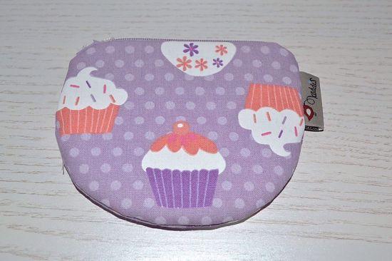 Bild von Minibörse Cupcake lila/bunt