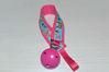 Bild von Schnullerband Schuhuu pink/bunt