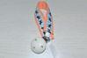Bild von Schnullerband Rehlein apricot/  blau Streifen